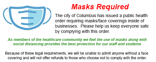 Masks are required for all classes